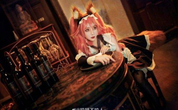 【COS赏析】Fate/EXTRA玉藻前可爱女仆