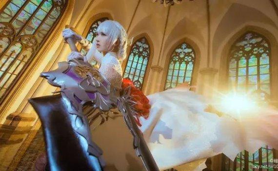 【cos精选】《死亡爱丽丝》白雪姬cos#这不就是你们要的女神吗!