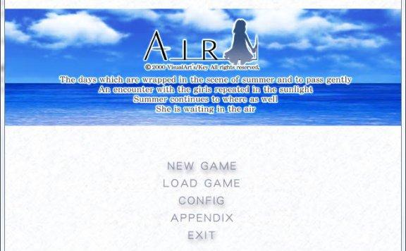 【Galgame】AIR【汉化版游戏】